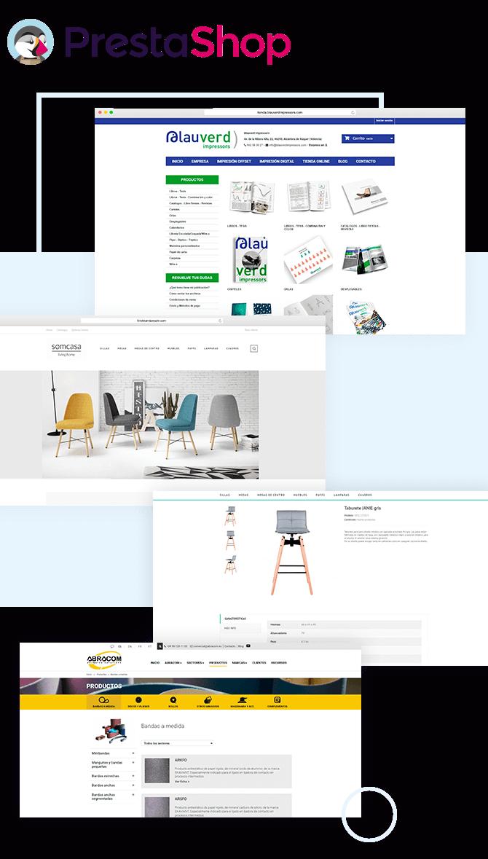 Desarrollo y programación de tu Tienda Online con PrestaShop.