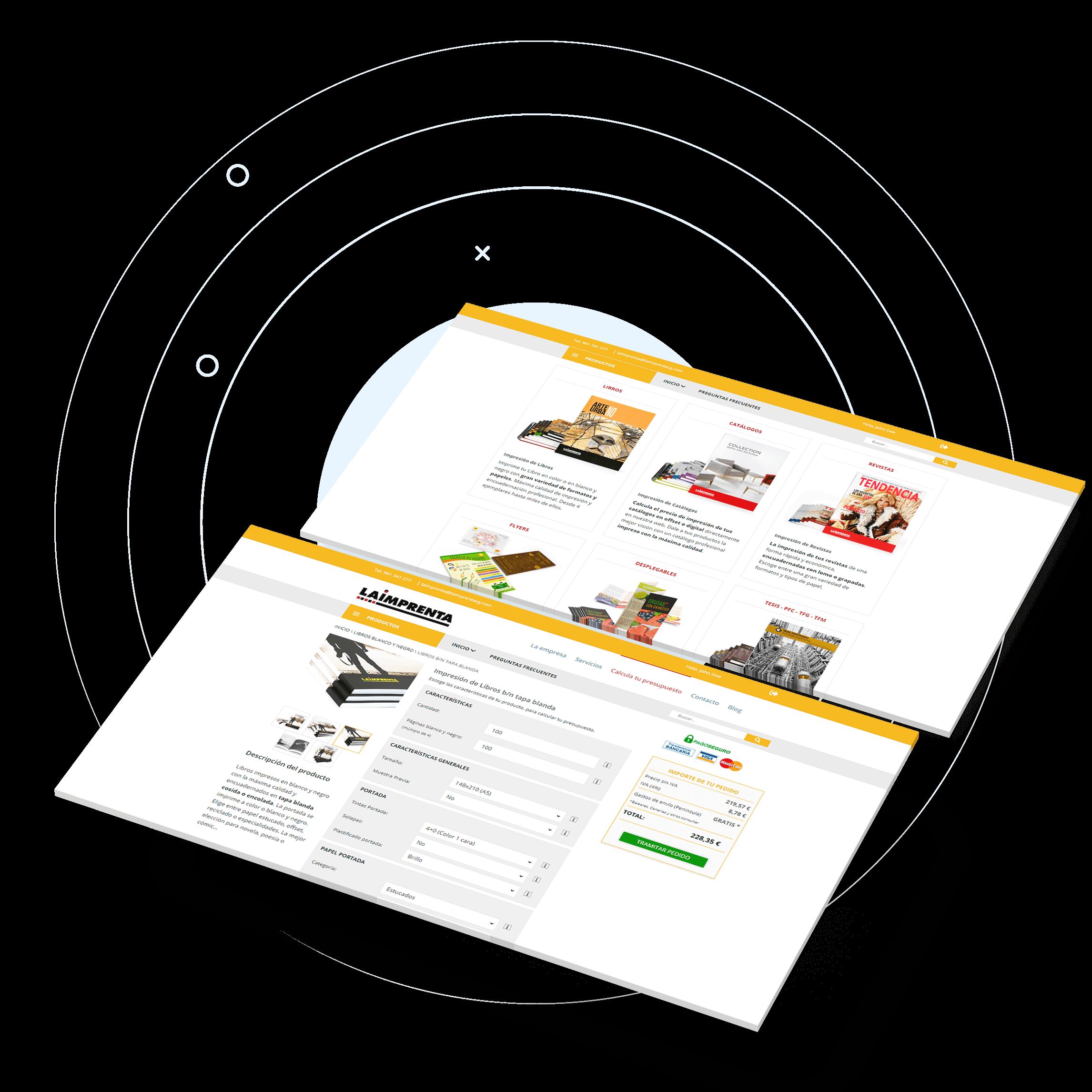 Desarrollo y programación de tu Tienda Online a medida.