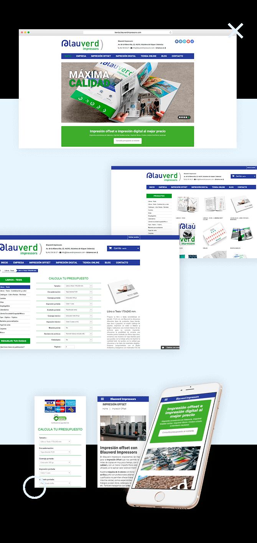 Tienda Online Blauverd Impressors